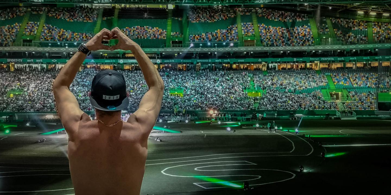 """Sporting CP: do pesadelo à catarse, jogadores e adeptos celebraram uma taça com """"outro sabor"""""""