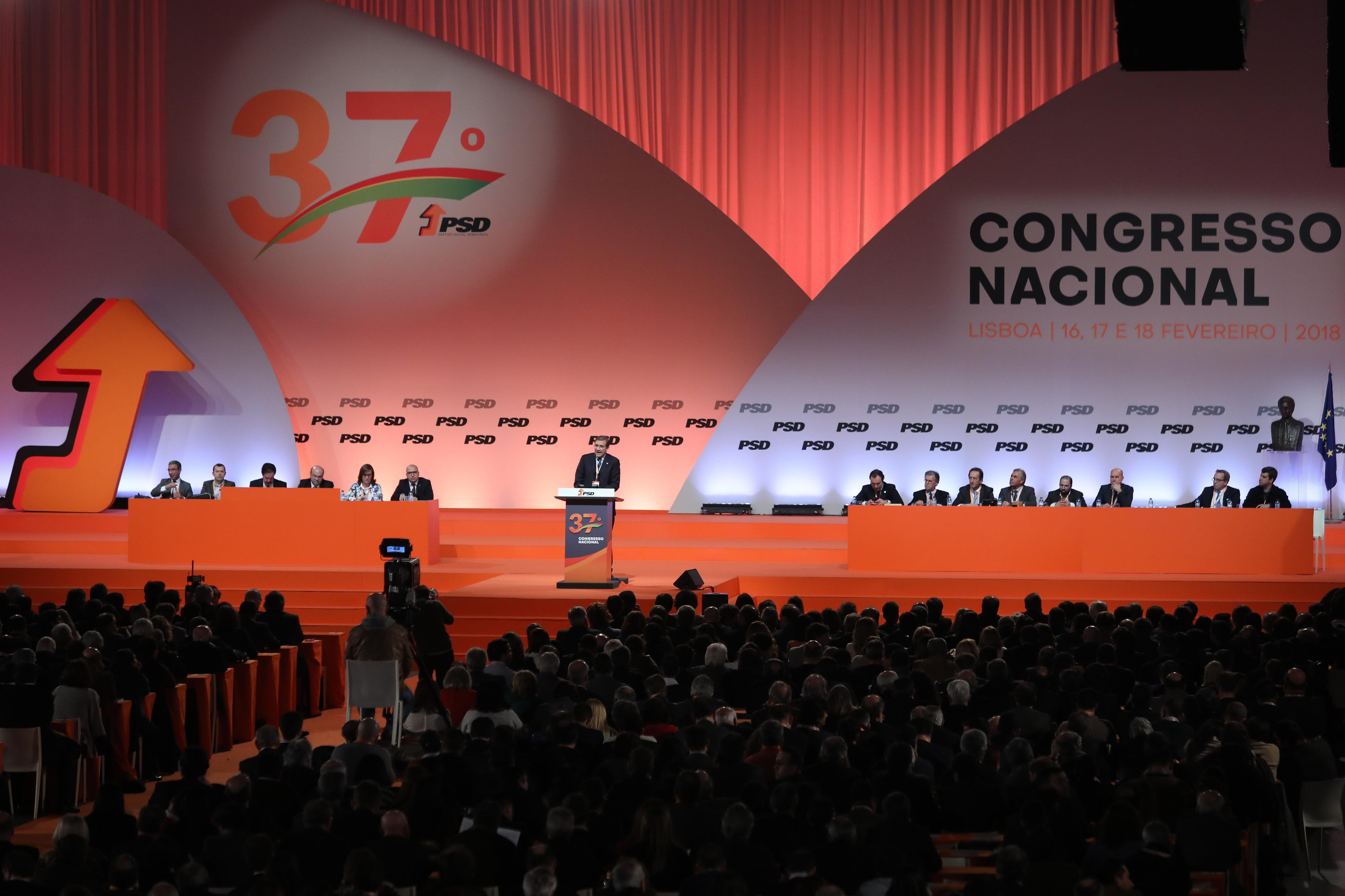 Congresso do PSD: Pedro Pinto avisa que só se ganham eleições com demarcação do PS