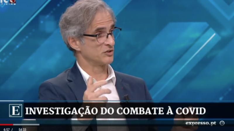 Virologista Pedro Simas afirmou que a taxa de mortalidade da COVID-19 é inferior a 0,1%?