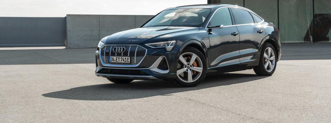 Novo Audi e-tron Sportback chega a Portugal a partir de 72.618 euros