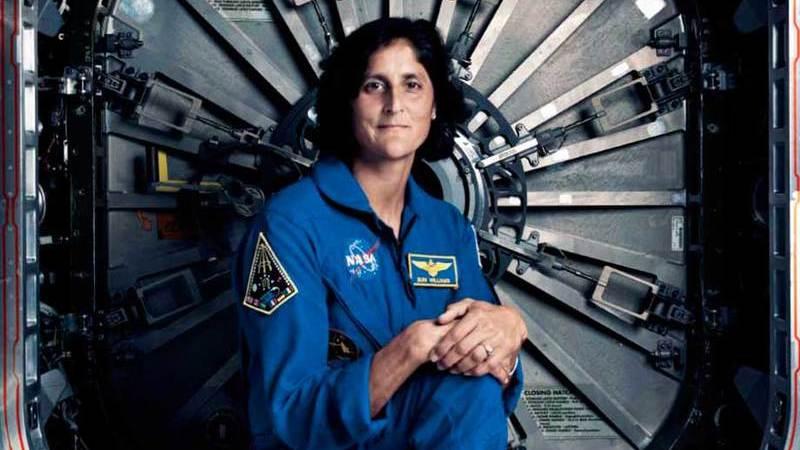 Sunita Williams, a caminhante do Espaço