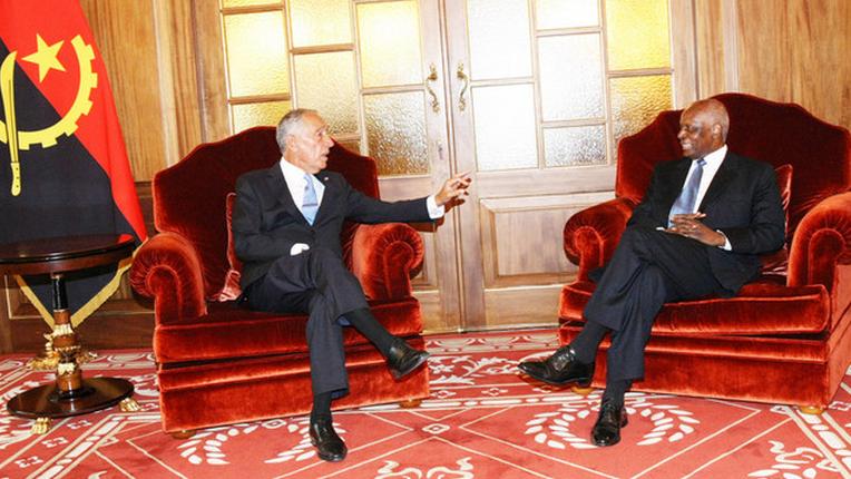 Presidente José Eduardo dos Santos encontra-se com homólogo de Portugal