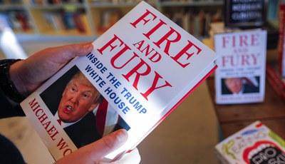 """""""Fogo e fúria"""": Livro com revelações polémicas sobre Trump inspira série de TV"""