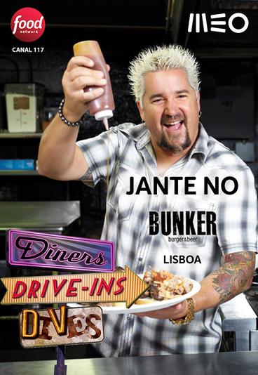 Ganhe um jantar para dois no Bunker, em Lisboa