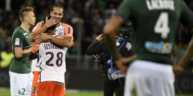 Saint-Étienne derrotado em casa pelo Montpellier