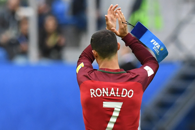 Ronaldo é o segundo melhor marcador de sempre de seleções europeias