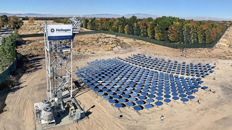 Heliogen: a mais poderosa concentração de energia solar térmica do mundo