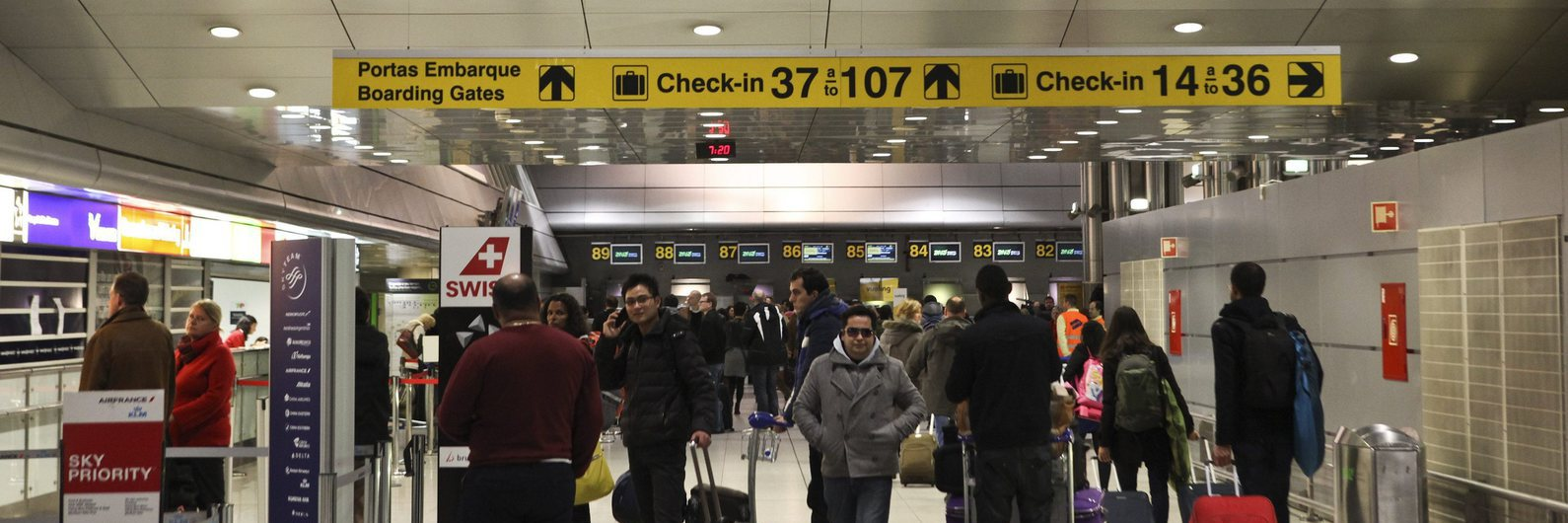 Falha protocolar leva a alerta de segurança no Aeroporto de Lisboa