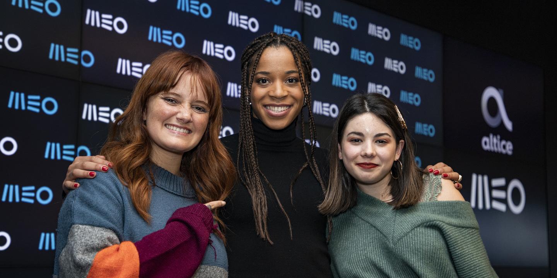 """""""Exemplos de pura inspiração"""". Carolina Deslandes, Bárbara Tinoco e Jéssica Silva são as novas embaixadoras da MEO"""
