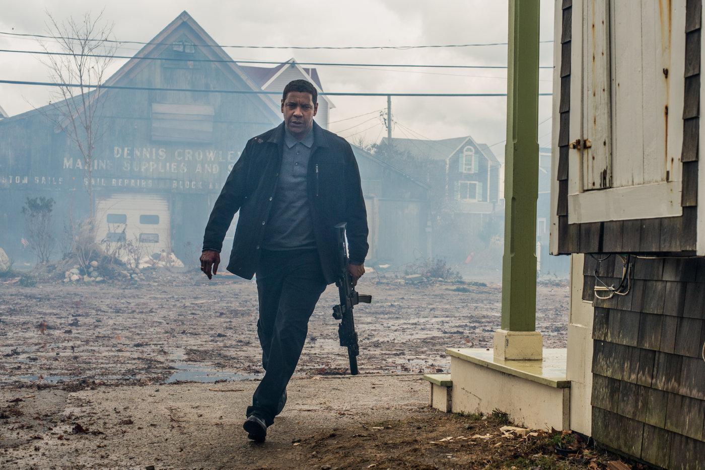 """Denzel Washington arrasa com tudo nas primeiras imagens de """"The Equalizer 2"""""""