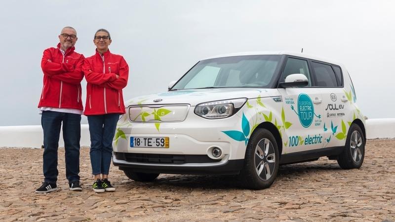 Kia Soul EV European Electric Tour: do Cabo da Roca ao Cabo Norte