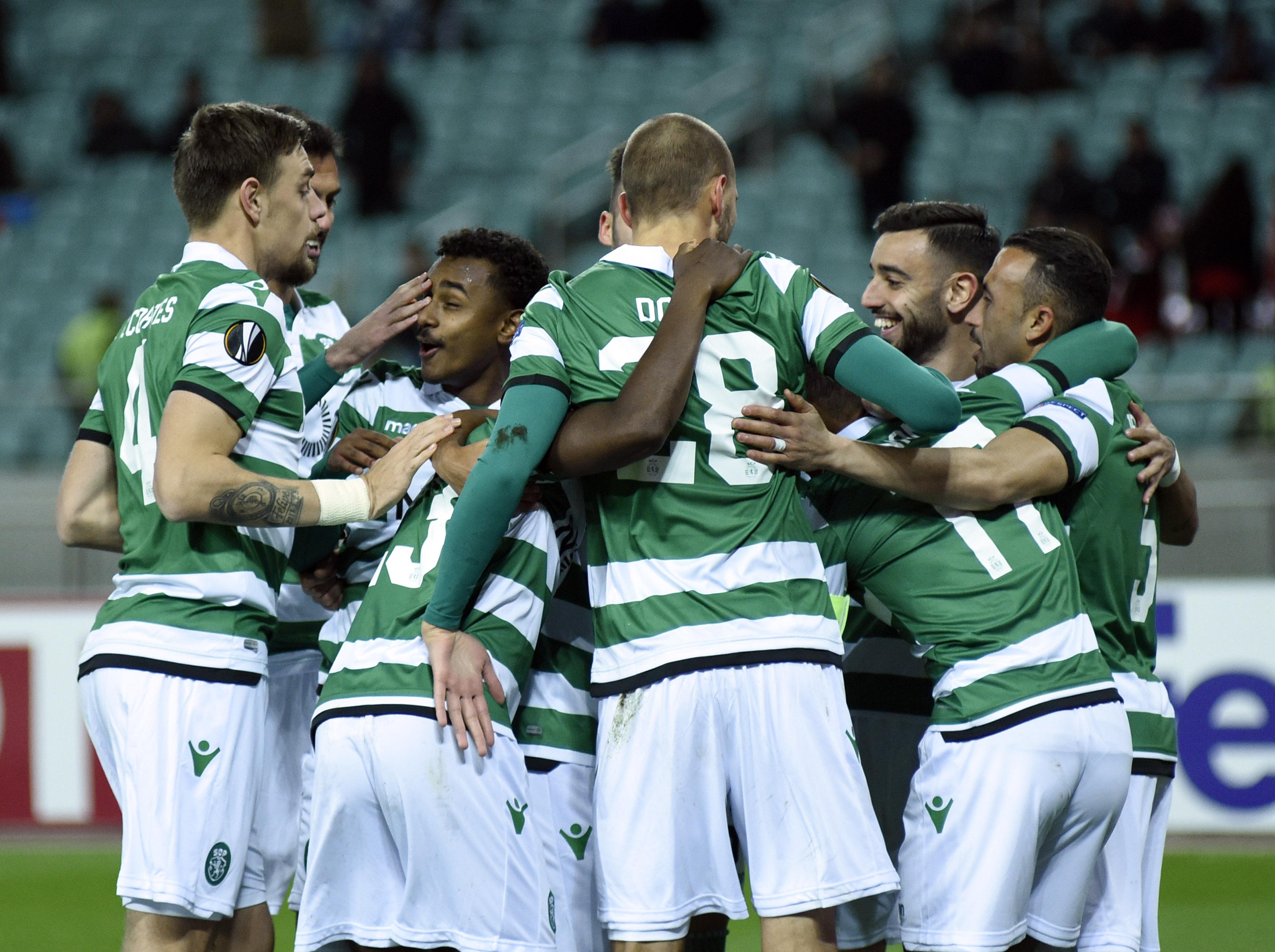 Seis regressos nos convocados do Sporting para a receção ao Nacional