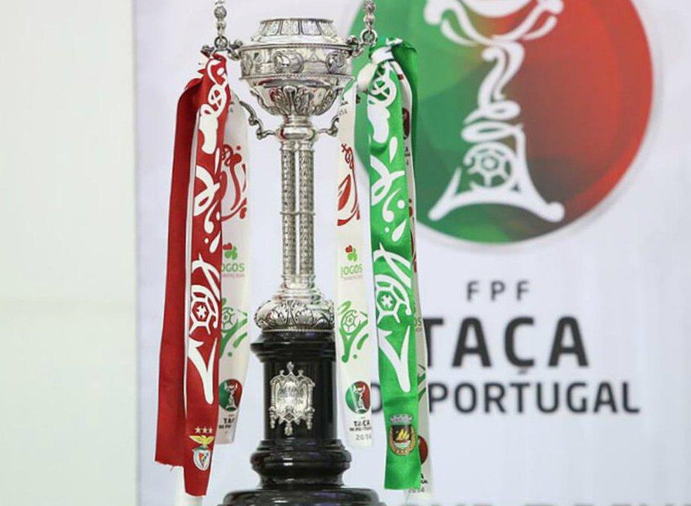 Taça de Portugal: Quem joga com quem nos oitavos de final