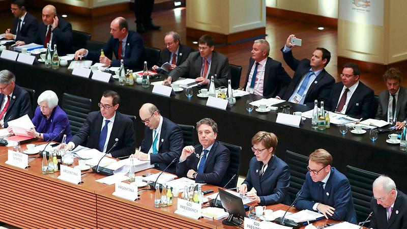 G-20 indica sinais de recuperação do crescimento económico global em 2020 e 2021