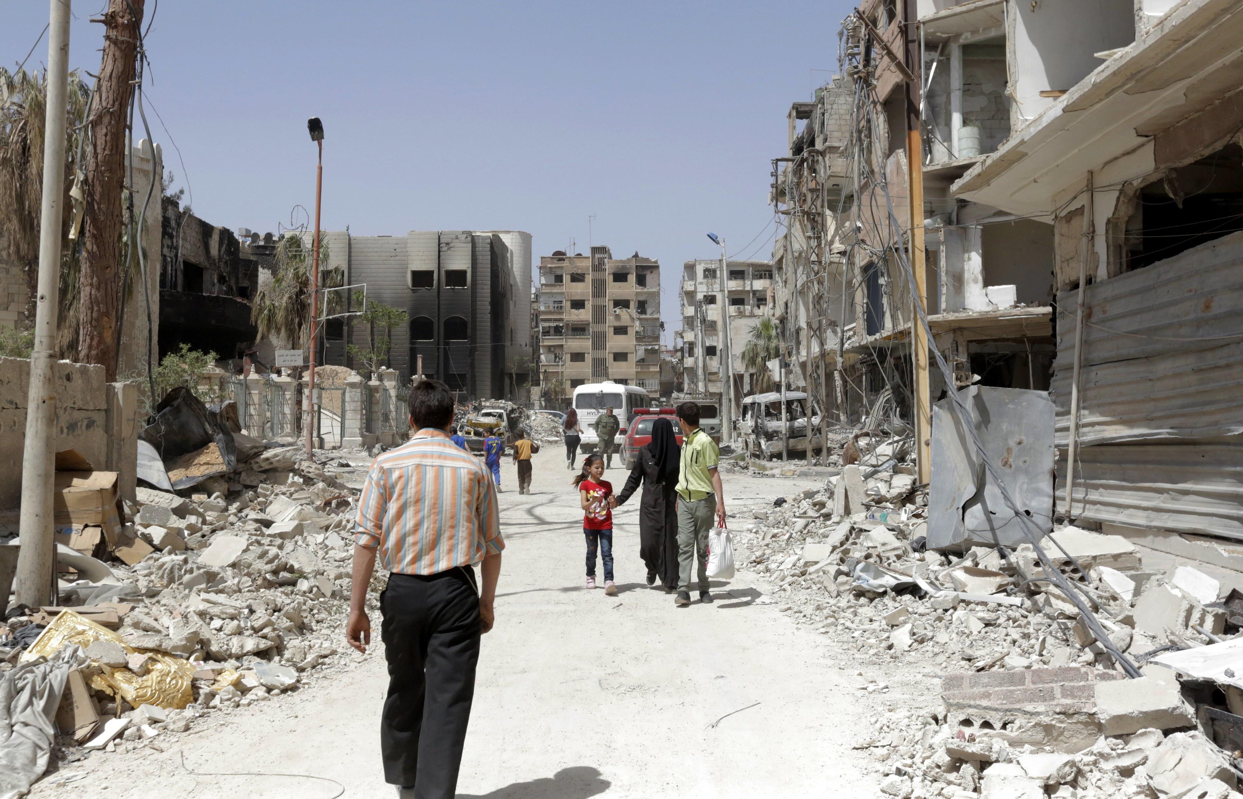 OPAQ visitou um segundo local de alegado ataque químico em Douma, na Síria