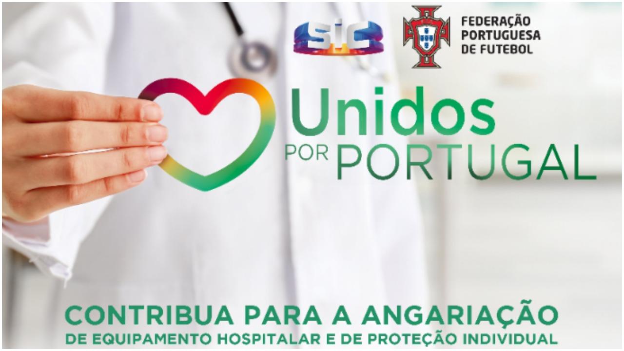 Covid-19: 'Unidos por Portugal' angaria quase 600 mil euros para hospitais e IPSS