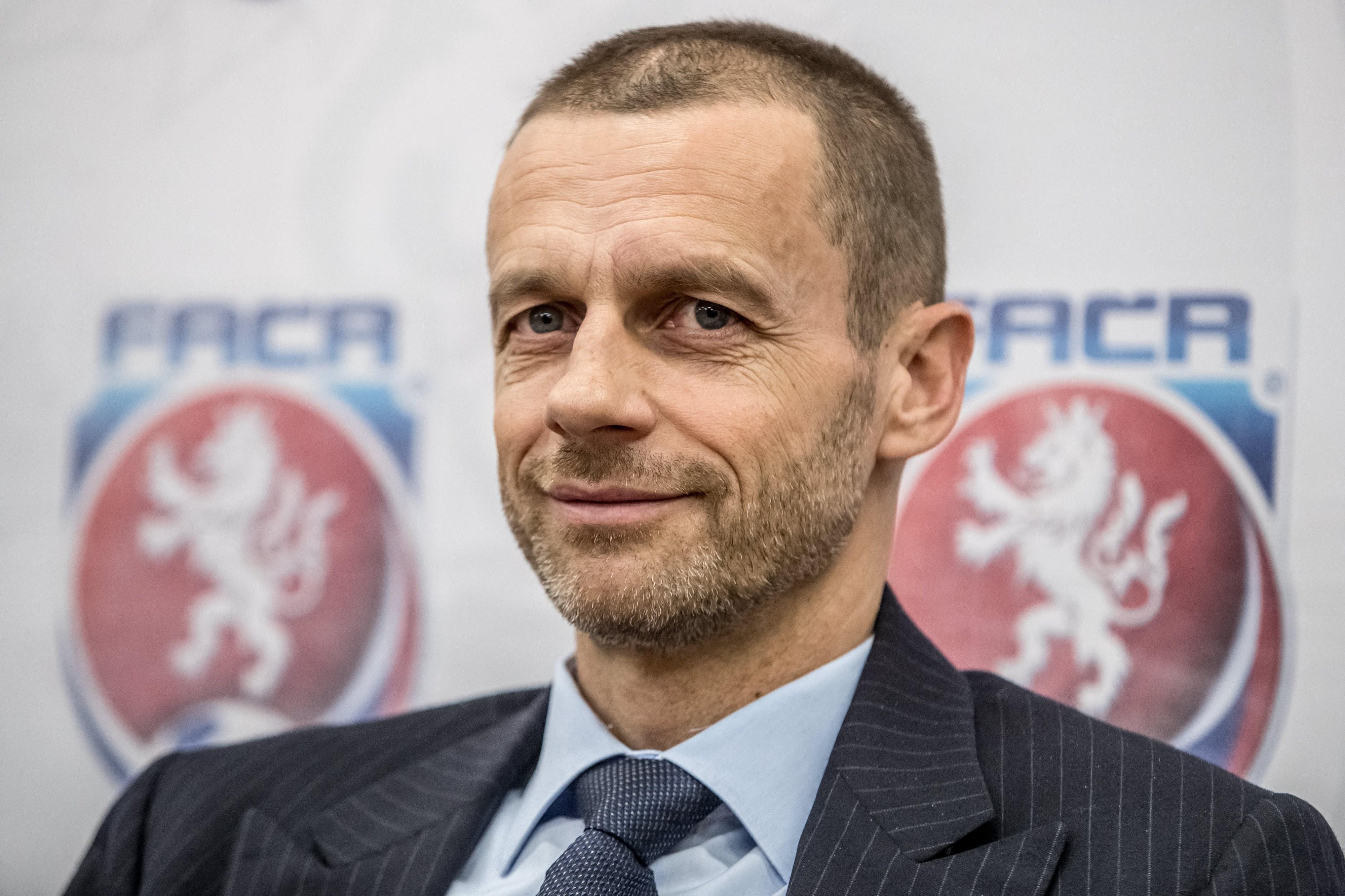 Aleksander Ceferin recandidata-se à presidência da UEFA