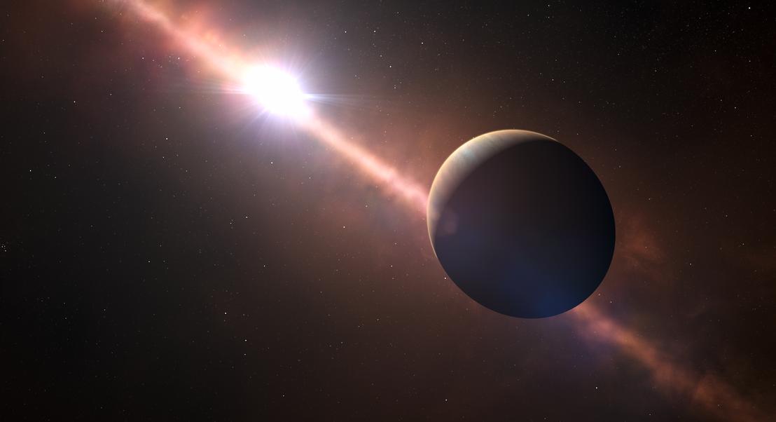 Detetado um novo planeta gigante a orbitar em redor de uma estrela. Está a 63,4 anos-luz da Terra