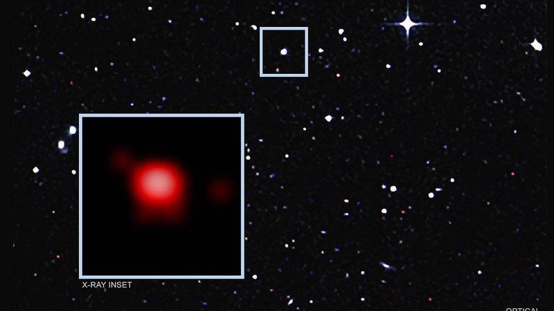 NASA e ESA descobrem buraco negro assustador que devora 12 luas por dia