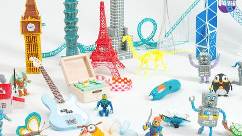 A caneta que desenha em 3D está de volta numa versão para crianças