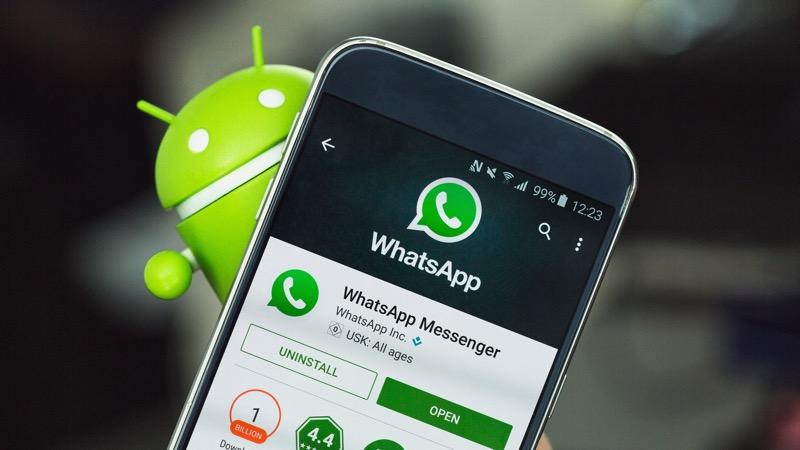 WhatsApp no Android recebeu mais dark mode e agora tem também a imagem do Facebook