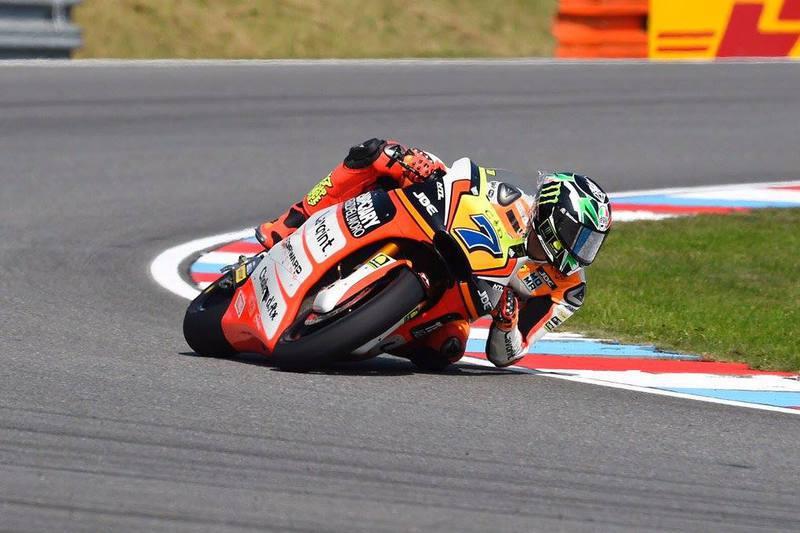 Baldassarri está bem fisicamente mas fica fora do GP da Holanda