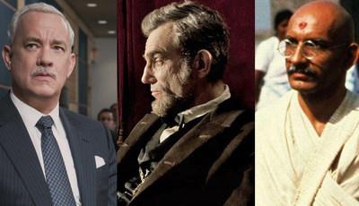 Descubra as diferenças: Heróis na vida real e os atores que os representaram