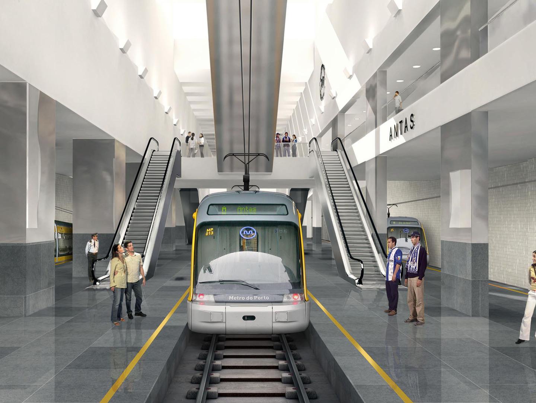 """Metro do Porto: Nova estação junto ao outlet?  Será a """"mais rentável"""" de toda a 'linha vermelha'"""