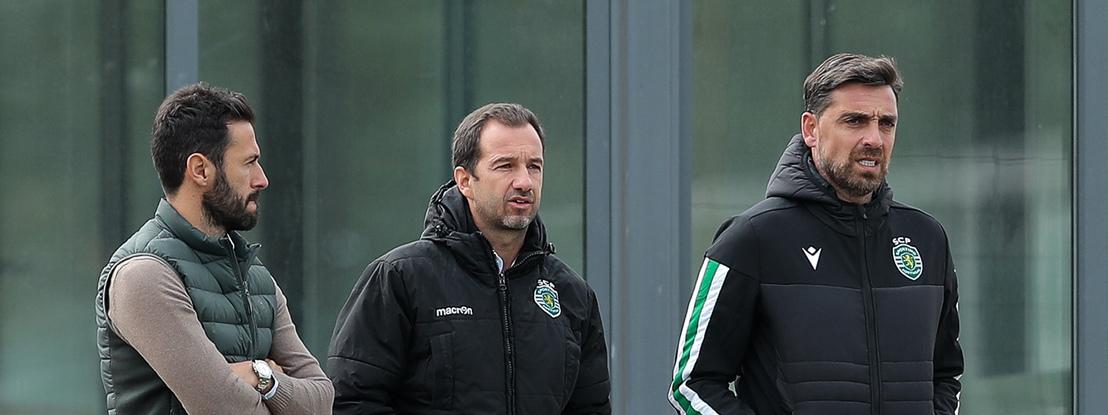 Atletas do Sporting são tratados por médicos da clínica de Frederico Varandas