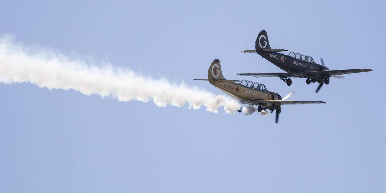 As melhores imagens do segundo dia do Red Bull Air Race no