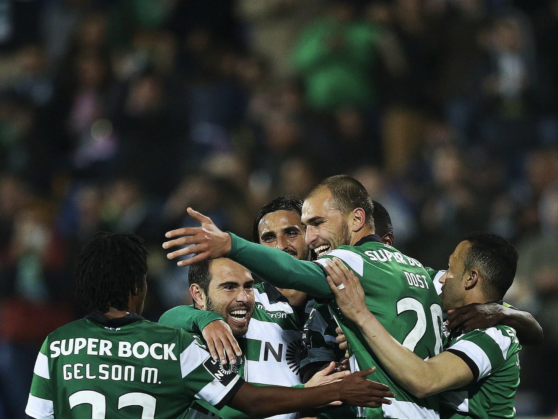 Sporting vence Estoril e aproxima-se do segundo lugar