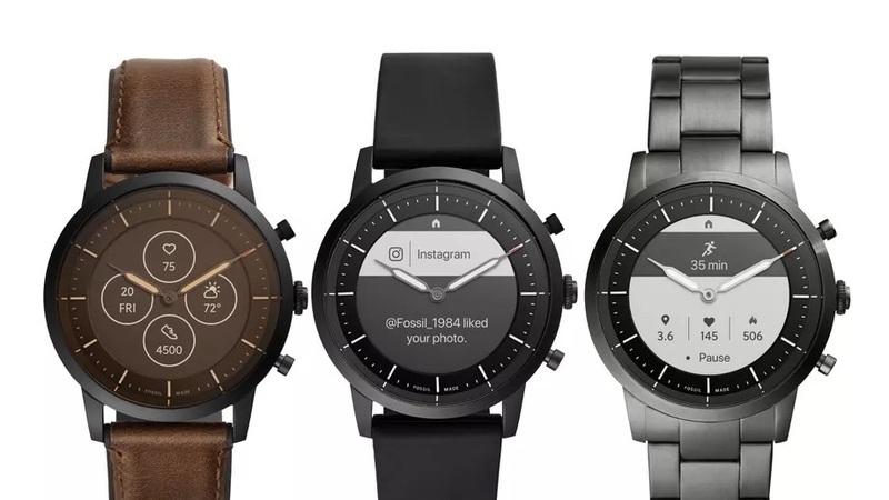 Estes são os primeiros smartwatches da Fossil com o investimento de 40 milhões da Google