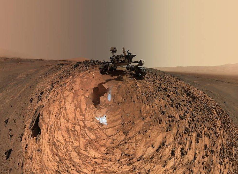 NASA mostra novas imagens a 360 graus do planeta vermelho