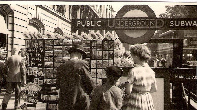 Fotos fascinantes mostram como era Londres nos anos 50