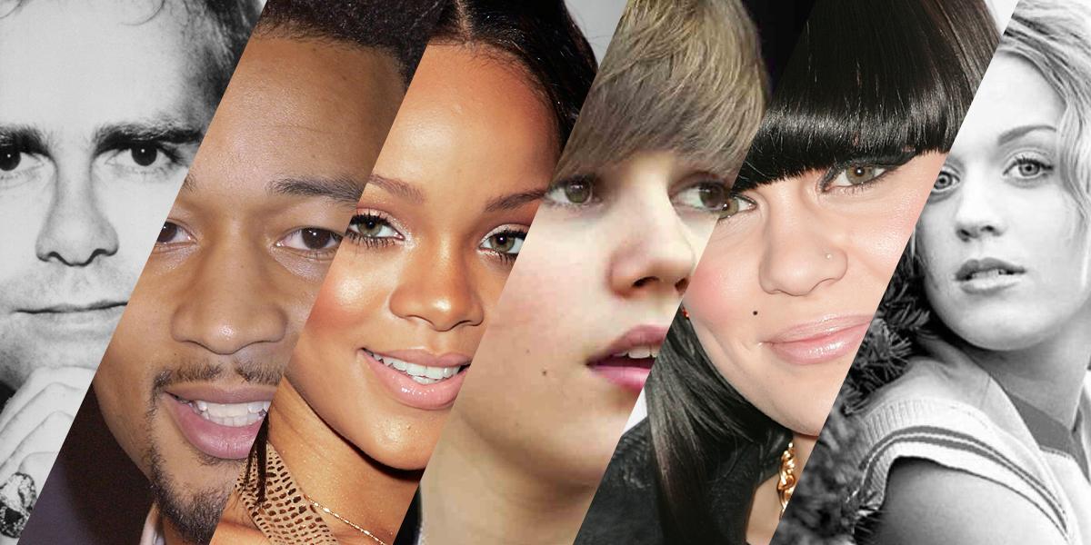 Para o bem ou para o mal, as estrelas da pop mudaram e muito