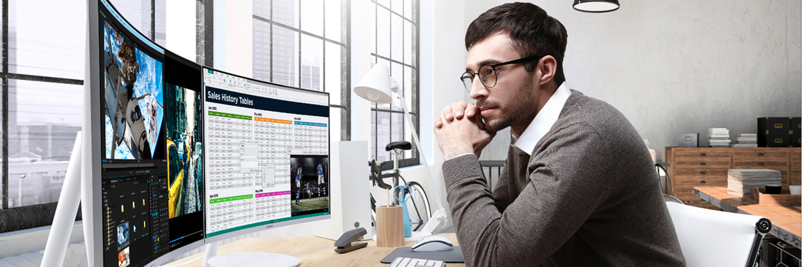 Montra TeK: 5 monitores curvos prontos para os seus conteúdos Full HD
