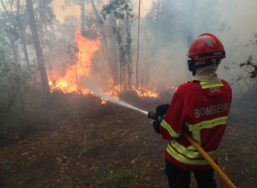 Dominados os dois fogos na Sertã. Bombeiros continuam a combater as chamas em Vila de Rei