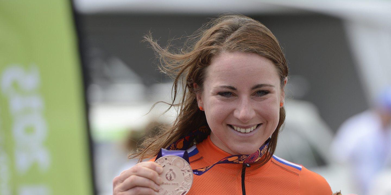 Mundiais ciclismo: Holandesa van Vleuten vence contrarrelógio feminino