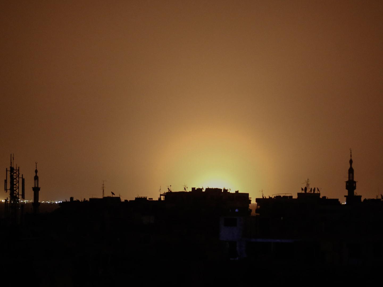 Explosão em Damasco foi provocada por ataque de Israel