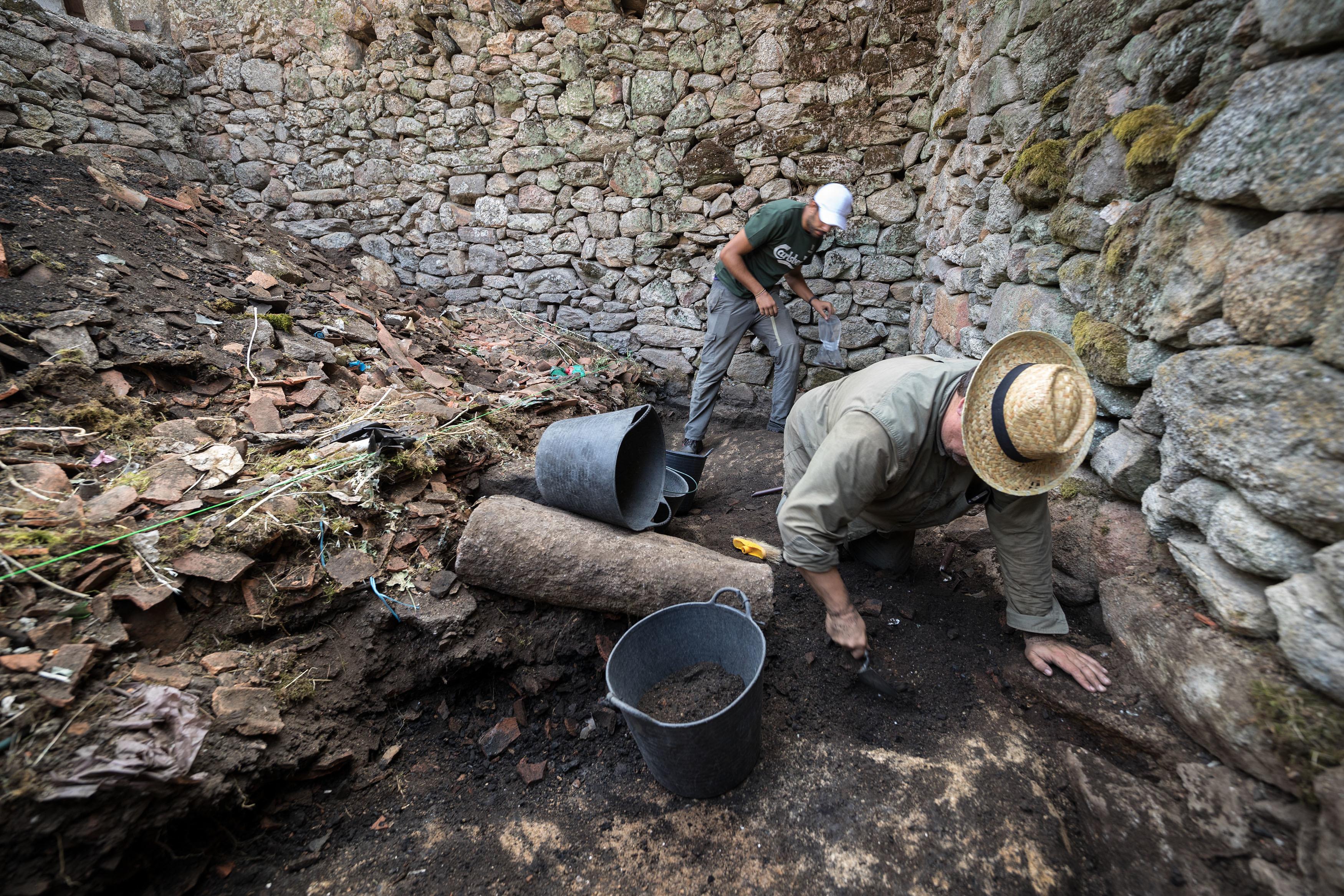 Arqueólogos estudam resistência na raia e o ataque à aldeia de Cambedo