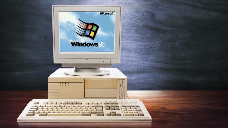 O que se prepara a Microsoft para apresentar amanhã sobre o Windows 95?