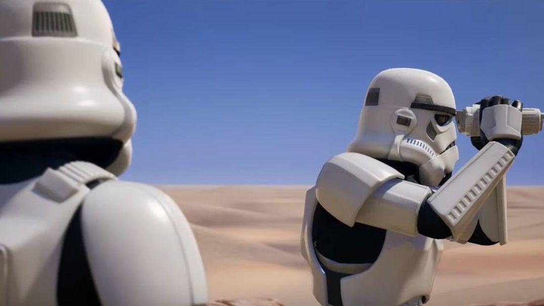 """Stormtroopers """"invadem"""" Fortnite"""