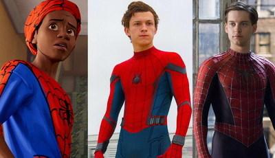 """De 2002 a 2018, do pior para o melhor: Os sete filmes do """"Homem-Aranha"""""""