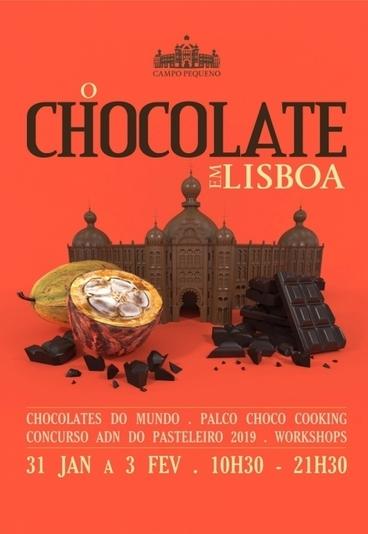 Estamos a oferecer 10 convites duplos para o evento O Chocolate em Lisboa