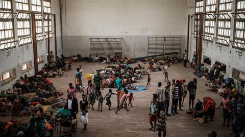 Cruz Vermelha Portuguesa envia para a Beira 35 toneladas de ajuda humanitária