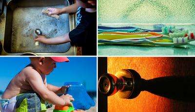 As 10 coisas mais sujas que tem em casa