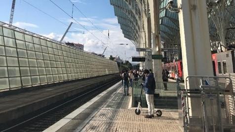 O que aconteceu ao meu comboio?