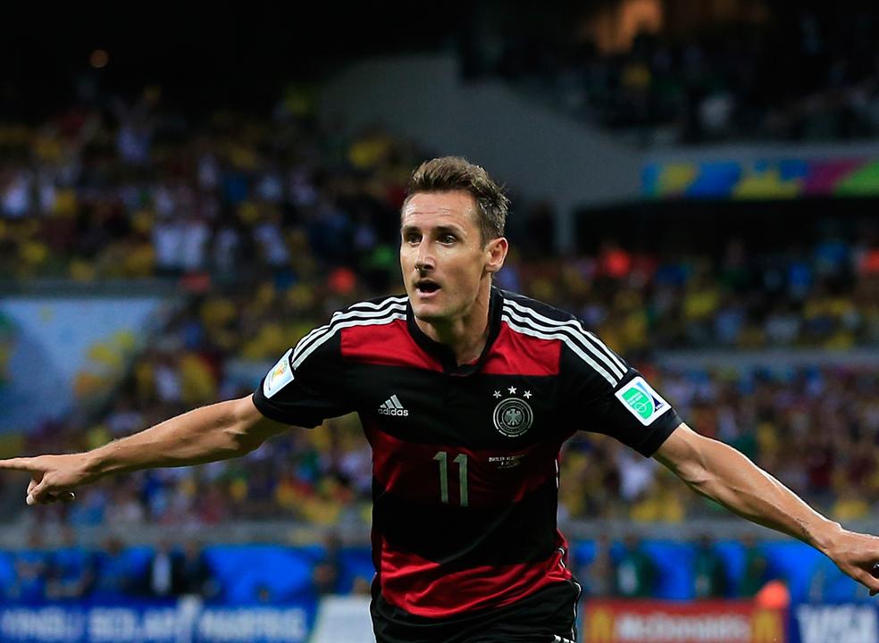 Mundial'2018: Miroslav Klose e Alemanha lideram lista de golos