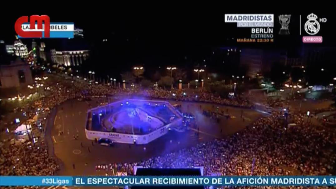 Veja as imagens do Real Madrid campeão