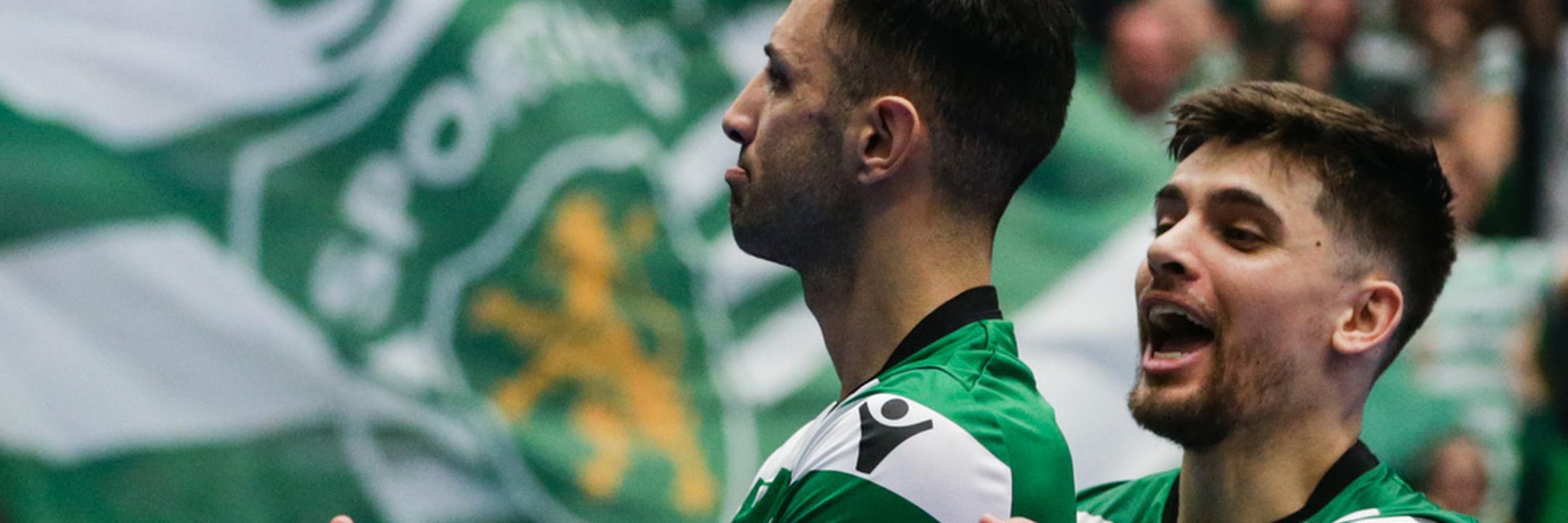 Futsal: Sporting está na 'final-four' da Liga dos Campeões